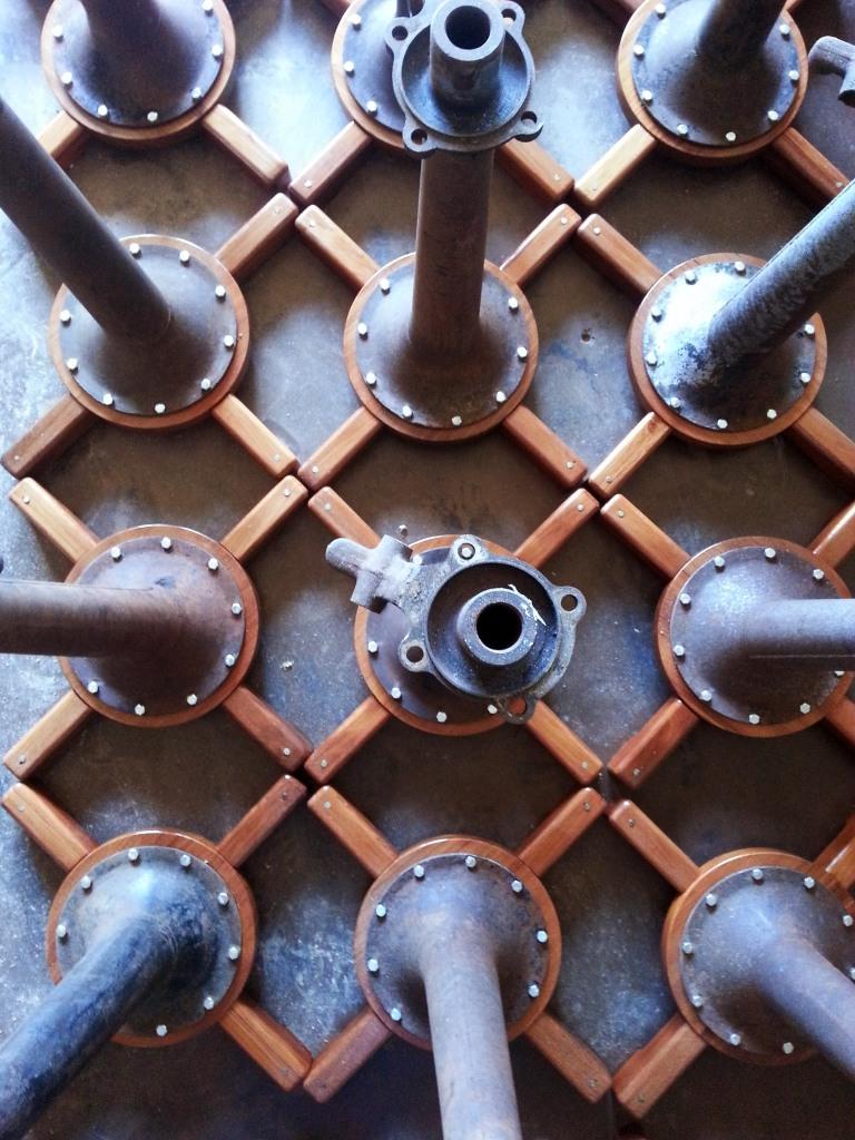 Model A axels circa 1930 © WildCraft Cider Works, 2014