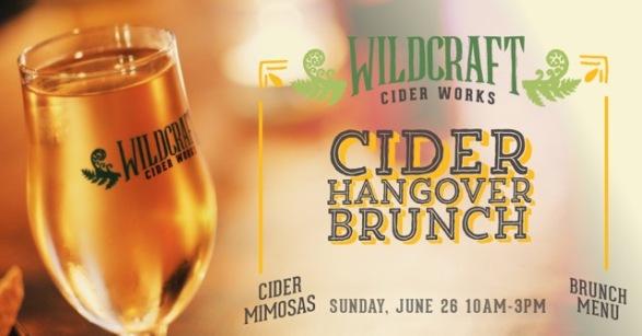 Cider Hangover Brunch basic banner